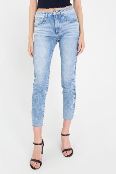 Чёрные джинсы legging
