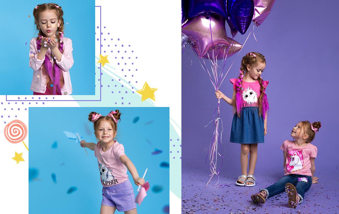 Для девочек до 6 лет